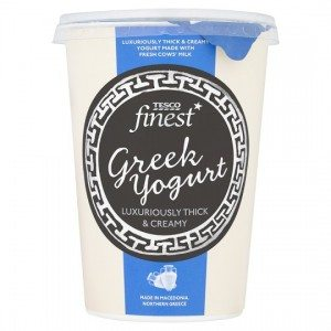 Tesco Finest Greek yoghurt