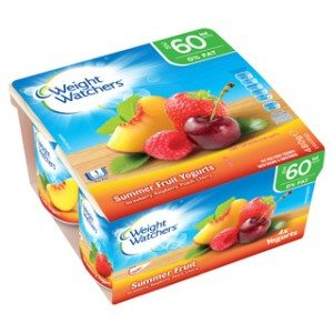 Weight Watchers yoghurts