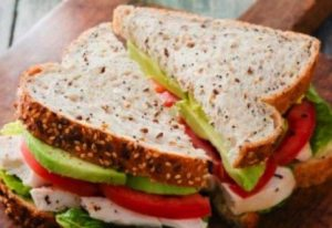 Gd babyshower turkey club sandwich