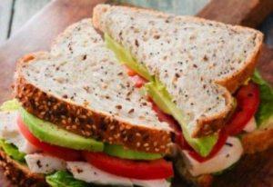 Gd babyshower turkey club sandwich