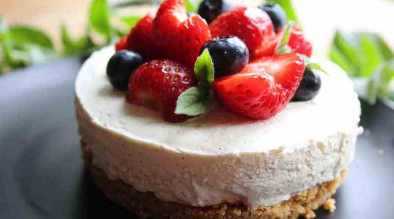 low carb vanilla cheesecake