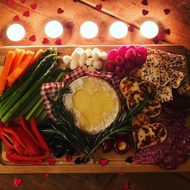 Valentine's Day platter