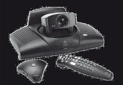 Equipo básico de videoconferencia comercial para grupo (Polycom)