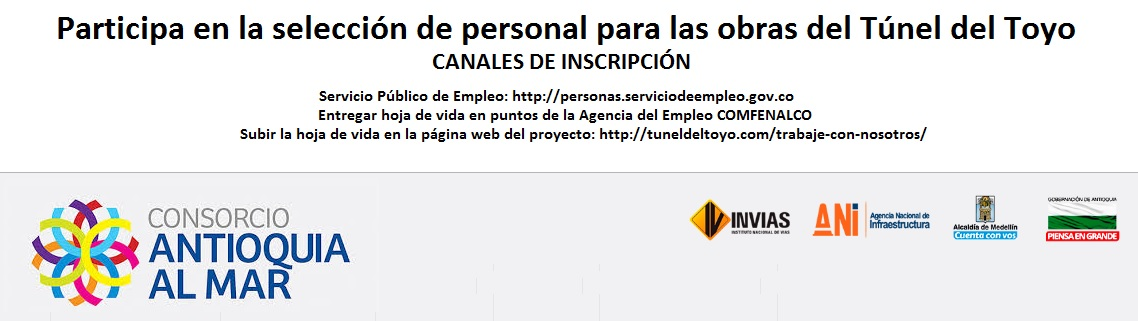 convocatoria-de-empleo-para-el-tunel-del-toyo-agencia-de-empleo-comfenalco-antioquia
