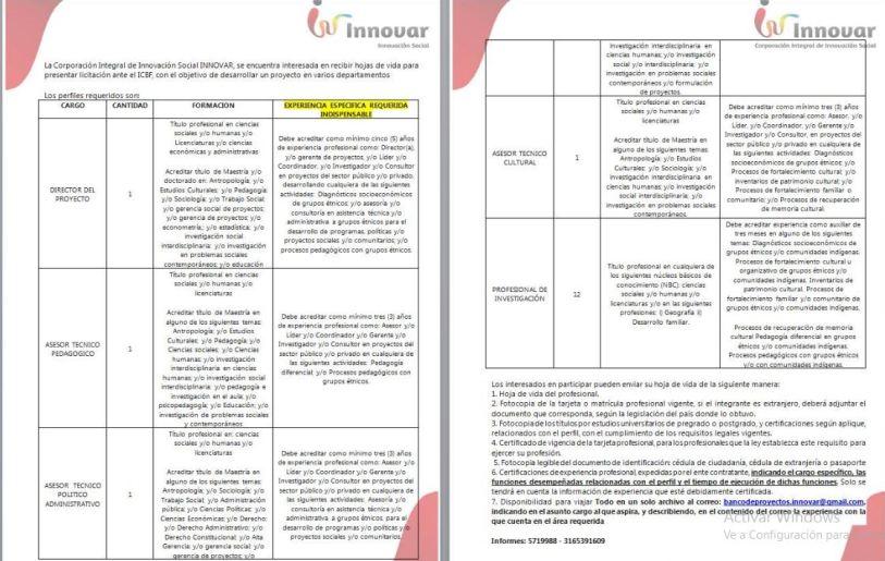 convocatoria-pareav-lcictacion-icbf-corporacion-innovar