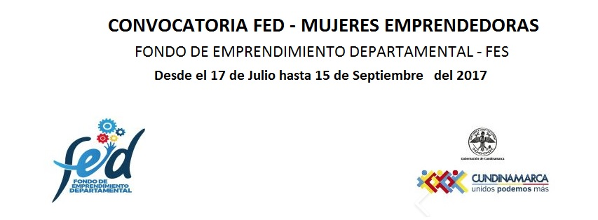 convocatoria-fondo-de-emprendimiento-departamental-convocatoria-mujeres-emprendedoras-gobernacion-de-cundinamarca