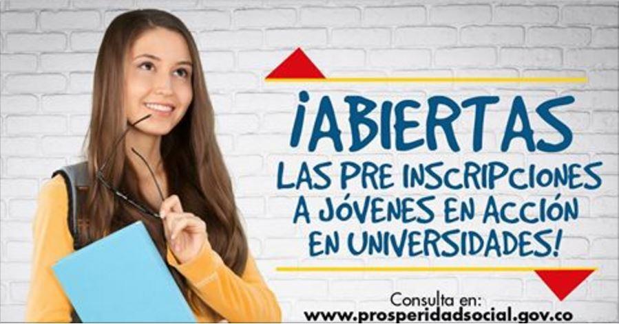abiertas-preinscripciones-para-estudiantes-matriculados-en-universidades-publicas-jovenes-en-accion-prosperidad-social