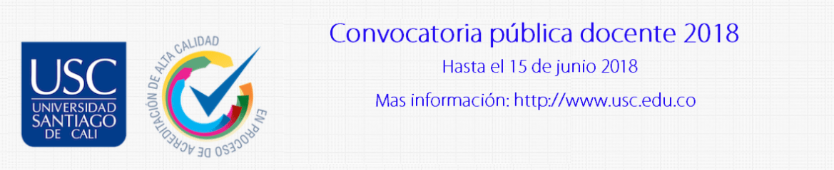convocatoria-publica-docente-2018-universidad-santiago-de-cali