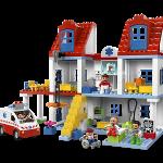Construyendo el hospital lego