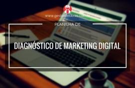 Planilha de Diagnóstico de marketing digital para empresas da construção civil