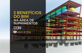 3 grandes melhorias geradas pelo BIM nas áreas de suprimentos - Gestor de Obras & Conaz