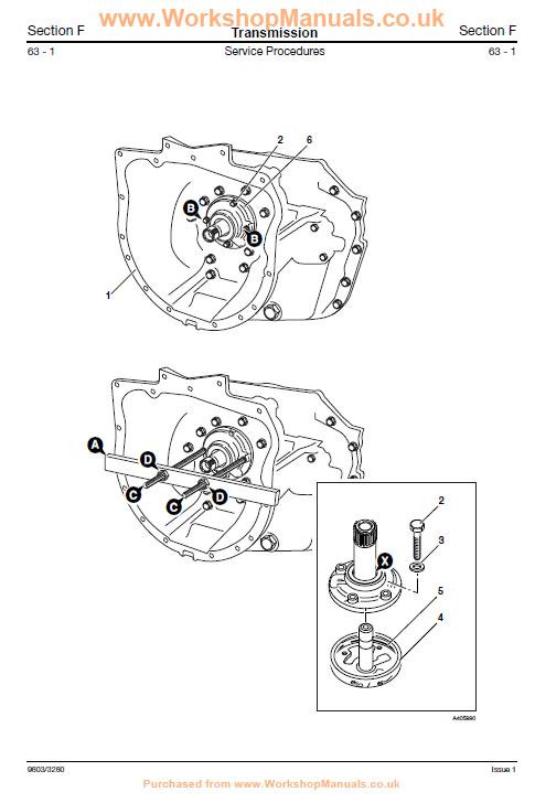 Manual De Servicio Retroexcavadoras JCB 3CX, 4cx, 214e