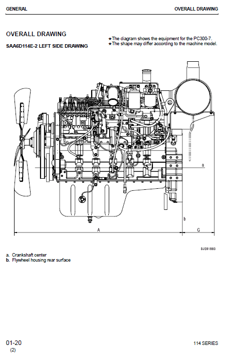 Manual De Servicio Excavadora SHOP MANUAL KOMATSU 114