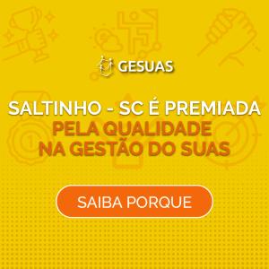 Conheça a história de sucesso de Saltinho, município no interior de Santa Catarina, premiado pela inovação e qualidade da gestão da Assistência Social, em parceria com o GESUAS.