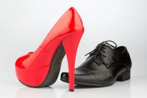 Schöne Schuhe - nicht immer fußgerecht