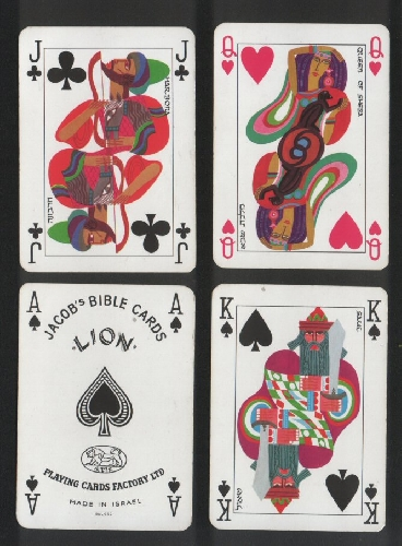 Collectible Playing Cards Jacob S Bible Cards