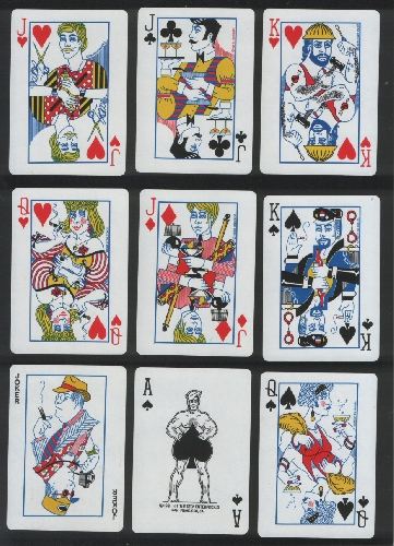 Collectible Vintage Playing Courts Card Tricks Gay Deck 1981