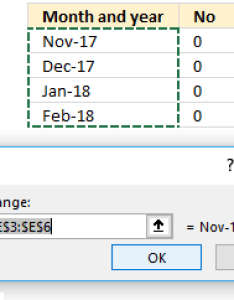 Select the dates formatted as month and year mmm yy click ok button also how to position between chart tick marks rh get digital help