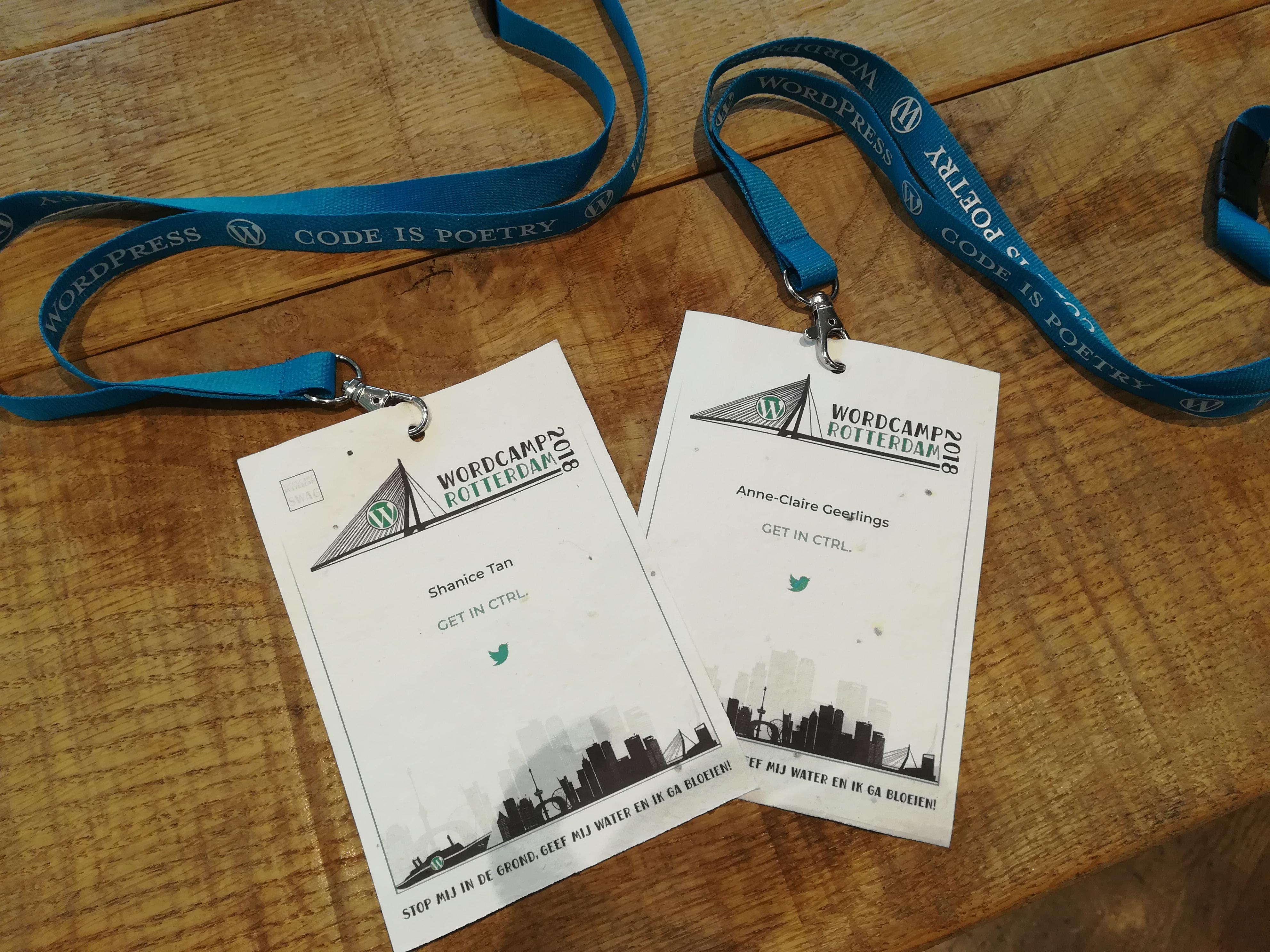 GET IN CTRL aanwezig bij Wordcamp Rotterdam