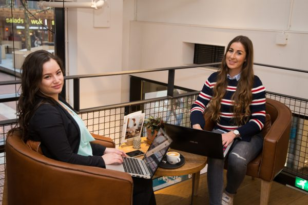 Shanice & Anne-Claire, GET IN CTRL. | Web design, web building & online marketing hulp