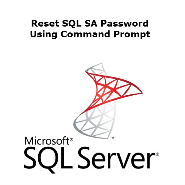 How to Reset SQL SA Password from Command Line