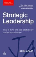 Strategic Leadership book summary
