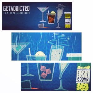 Getaddicted Party Gewinnspiel . the wombats, dry the river, we are the ocean,  silverstein