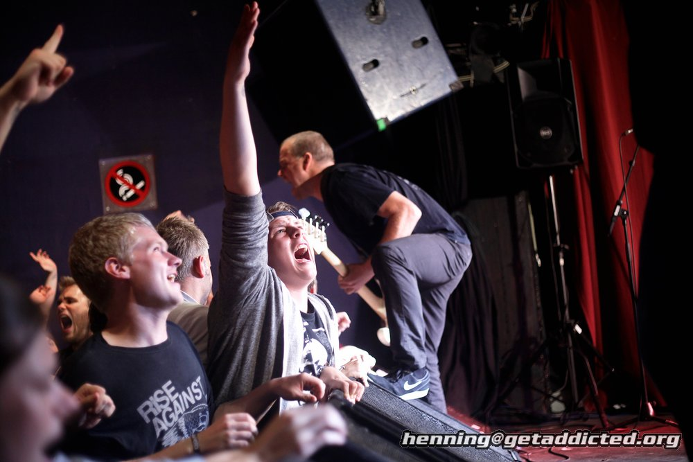 Ignite in der Sputnikhalle Münster 2014, Foto Henning Haake