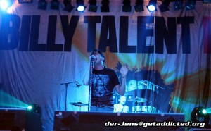 Billy Talent in Köln 2006, Foto: Jens Becker