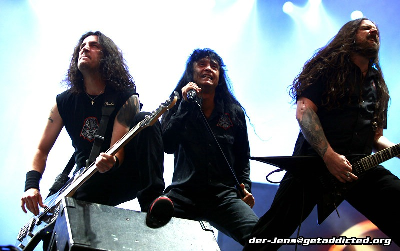 Anthrax in Gelsenkirchen 2011, Foto: Jens Becker