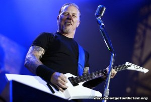 Metallica in Gelsenkirchen 2011, Foto: Jens Becker