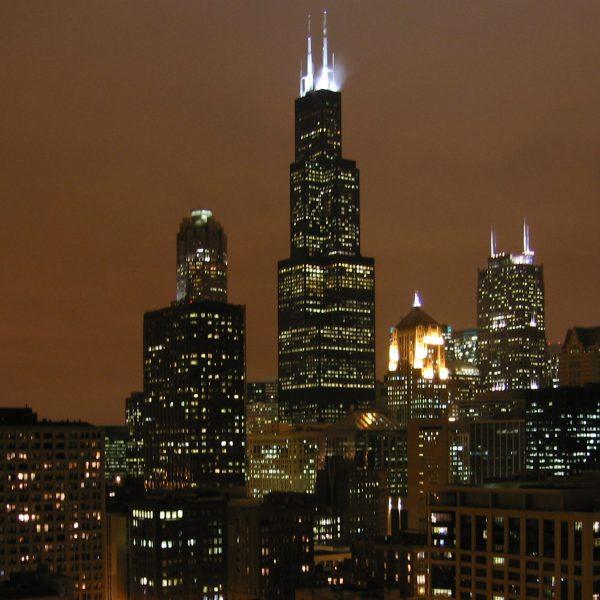 Afraid Of Skydeck Chicago - Man