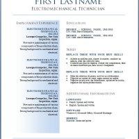 Free CV templates #36 to 42