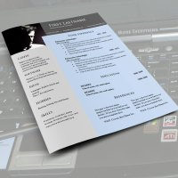 CV resume word templates #968 to 971