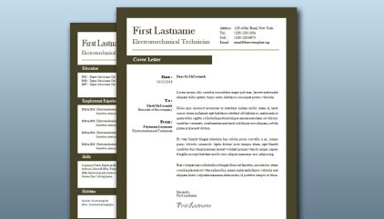 Downloadable and editable free cv templates • Get A Free CV