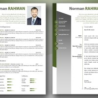 Professional CV and Cover Letter Templates