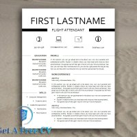 Creative Classic Look CV Resume Template