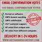 Buy Email Confirmation Votes