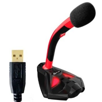 KLIM Desktop USB Microphone Stand for Computer Laptop PC Gaming Mic Full Image