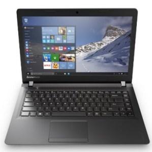 Lenovo Ideapad 100 15.6-Inch Laptop (Pentium, 4 GB RAM, 500 GB HDD, Windows 10)