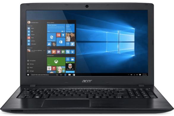 Acer Aspire E15 gaming laptop