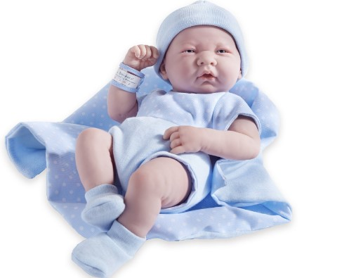 JC Toys Berenguer Boutique La Newborn doll