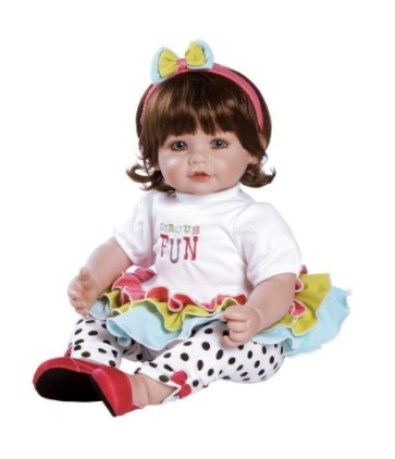Adora Toddler Circus Fun Lifelike Girl Doll