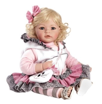 20 inches Adora Toddler The Cat's Meow Huggable Cute Toddler Girl Doll