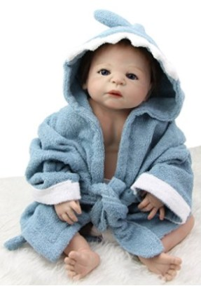 23-Inch Realistic Reborn Full Silicone Body Baby Doll