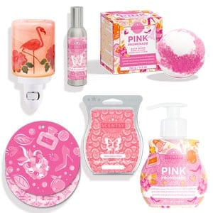 Scentsy's pink summertime collection for sale now at getascent.com!