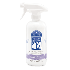 Lavender Cotton Scentsy Fresh Fabric Spray