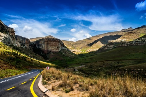 On a road trip down to Durban we took a pass through Clarens and the Golden Gate Nature Reserve. By Ashley Christophers, Johannesburg Nikon D5500, Nikon 18-55mm f/3.5-5.6, ISO 100, f/22, 1/30 sec