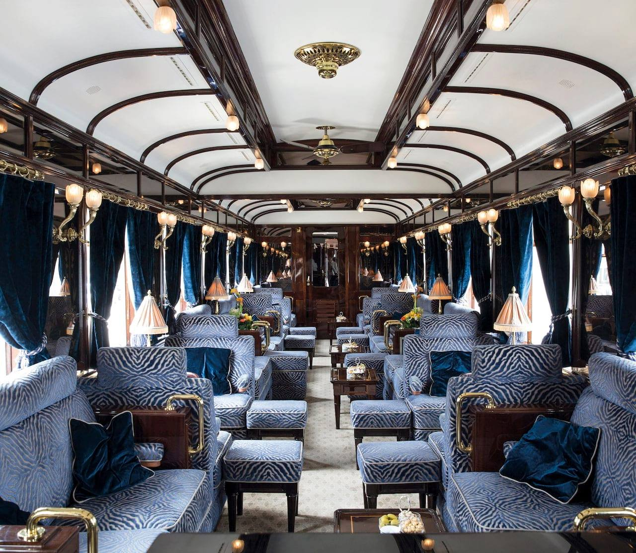 Hiding out in an island palazzo. Luxury Gatsby-style train ride to launch in Europe