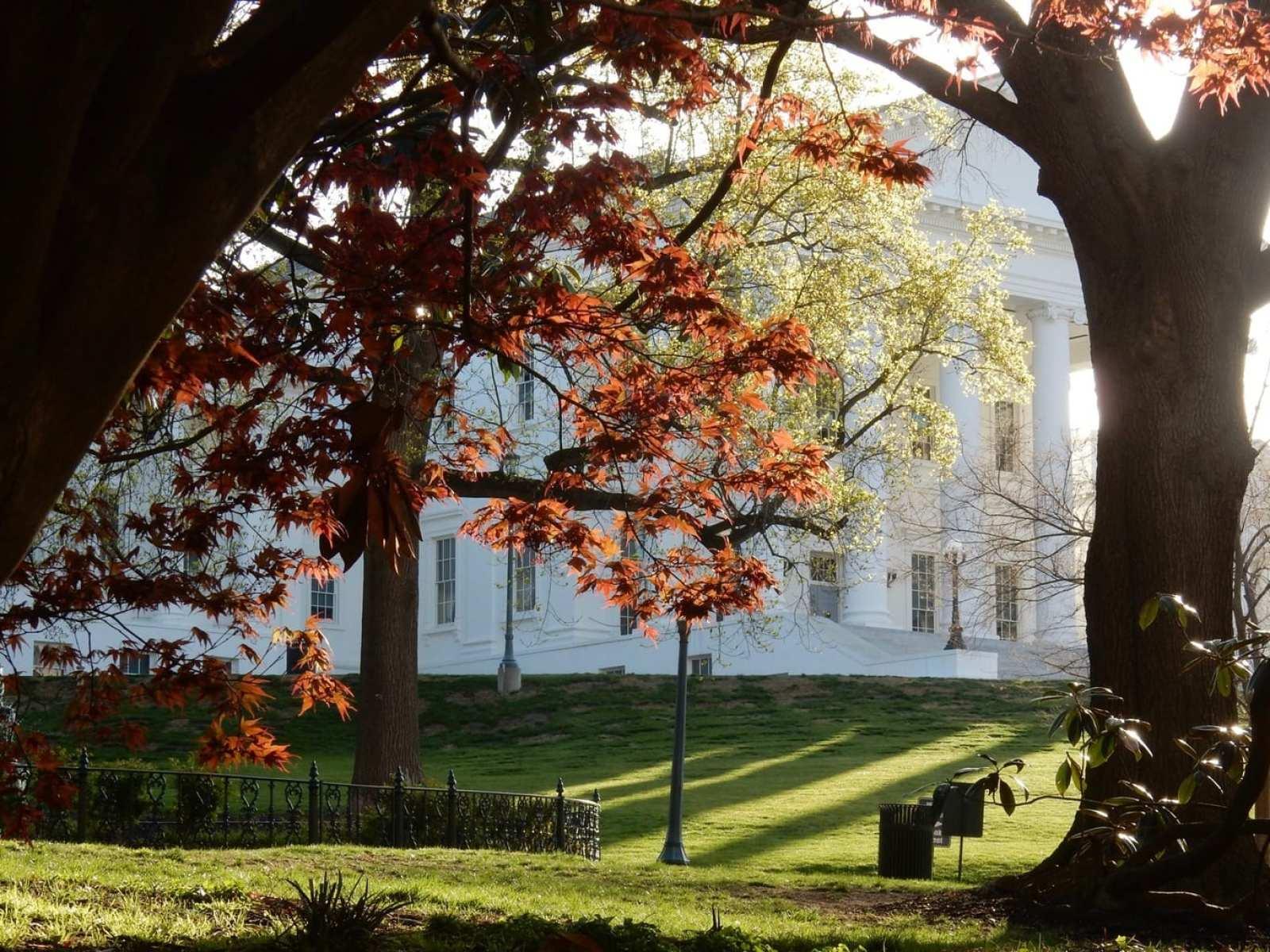VA State House Sunrise Richmond VA
